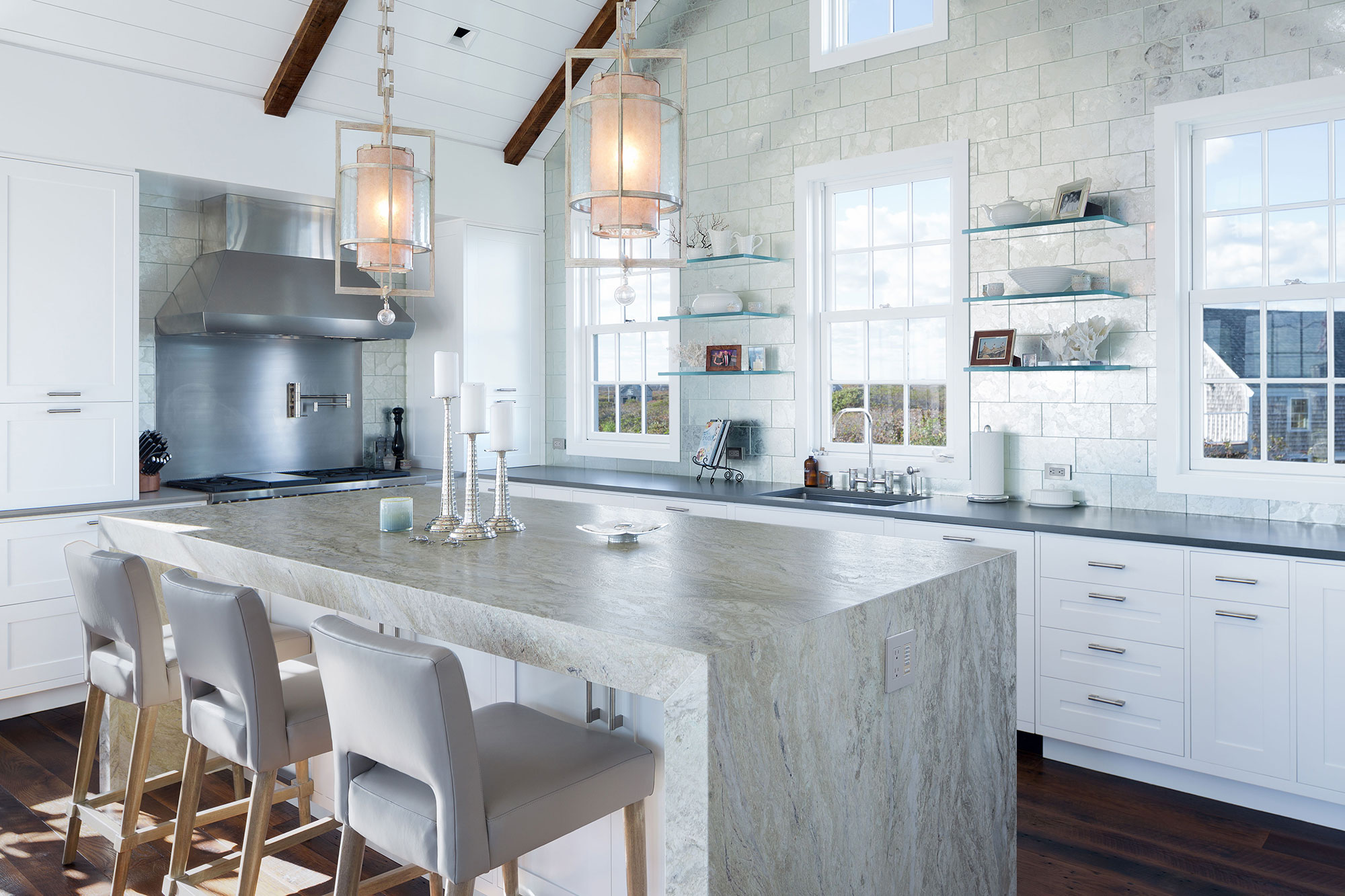 Nantucket Kitchens Designed by Chip Webster Architecture on Nantucket